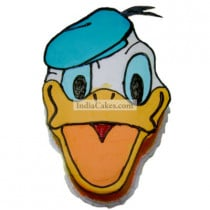 2 Kg Donald Duck Face Cake