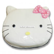 Fondant Hello Kitty Cake Two Kilogram