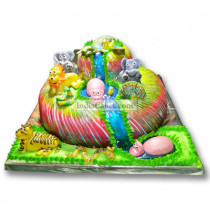 3 Kg Jungle Theme Cake