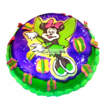 Fondant Minnie Mouse Cake Two Kilogram