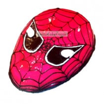 Fondant Spiderman Cake Two Kilogram