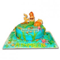 2 Kg The Little Mermaid Cake Pune