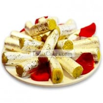 1/2 Kg Dry Fruit Roll Sweets