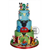 Mickey Mouse Clubhouse Cake_1