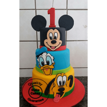 Mickey Mouse Clubhouse Cake_2