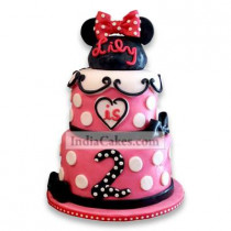 6 Kg Charming Minnie Mouse Cake