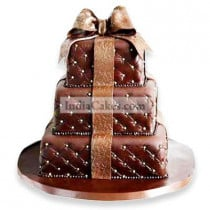 10 Kg Chocolaty Wedding Cake