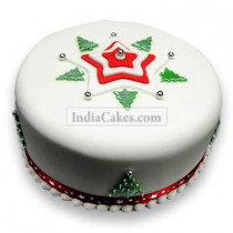 2 Kg Christmas Tree Cake