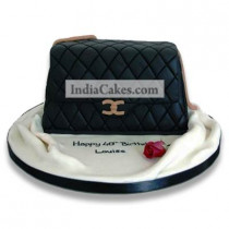 Fondant Handbag Cake Two Kilogram