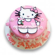 2.5 Kg Hello Kitty Birthday Cake