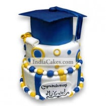 4 Kg High School Graduation Cake