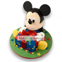3.5 Kg Mickey Mouse Theme Cake