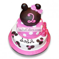 5 Kg Princess Minnie Cake