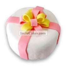 Fondant Ribbon Bow Cake Two Kilogram