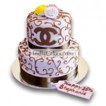 3.5 Kg Special Chanel Cake