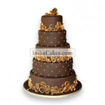15 Kg Wedding Celebrations Chocolate Cake