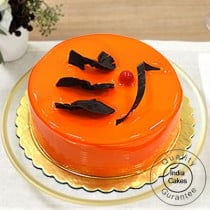 1 Kg Eggless Orange Cake