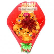 Teddy Bouquet 17