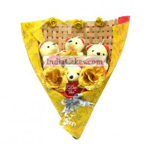 Teddy Bouquet 29