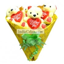 Teddy Bouquet 37