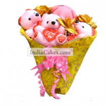 Teddy Bouquet 61