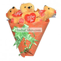 Teddy Bouquet 69