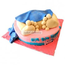 Fondant Baby Shower Cake Two Kilogram