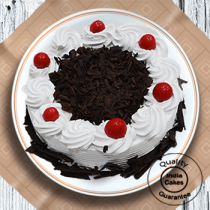 Half Kg Yummy Black Forest Cake