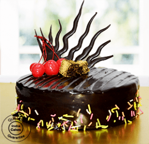 Rich Chocolate Truffle Cake