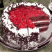 1 Kg Strawberry Black Forest Cake